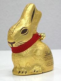 Meghasonlott csokinyulak