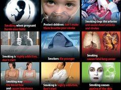 Sokkoló képek a cigarettás dobozokon